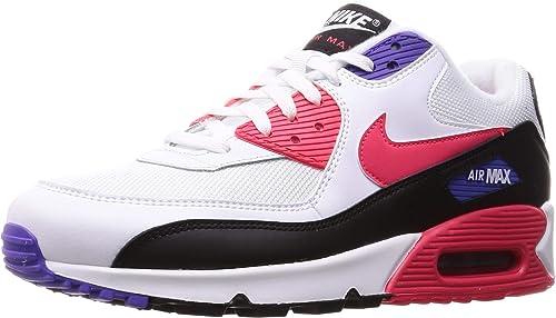 Nike Air Max 90 Essential Baskets Blac Whit Gray Homme