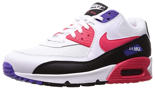 Nike Air Max 90 Essential WhiteRed Orbit Psychic Purple AJ1285 106