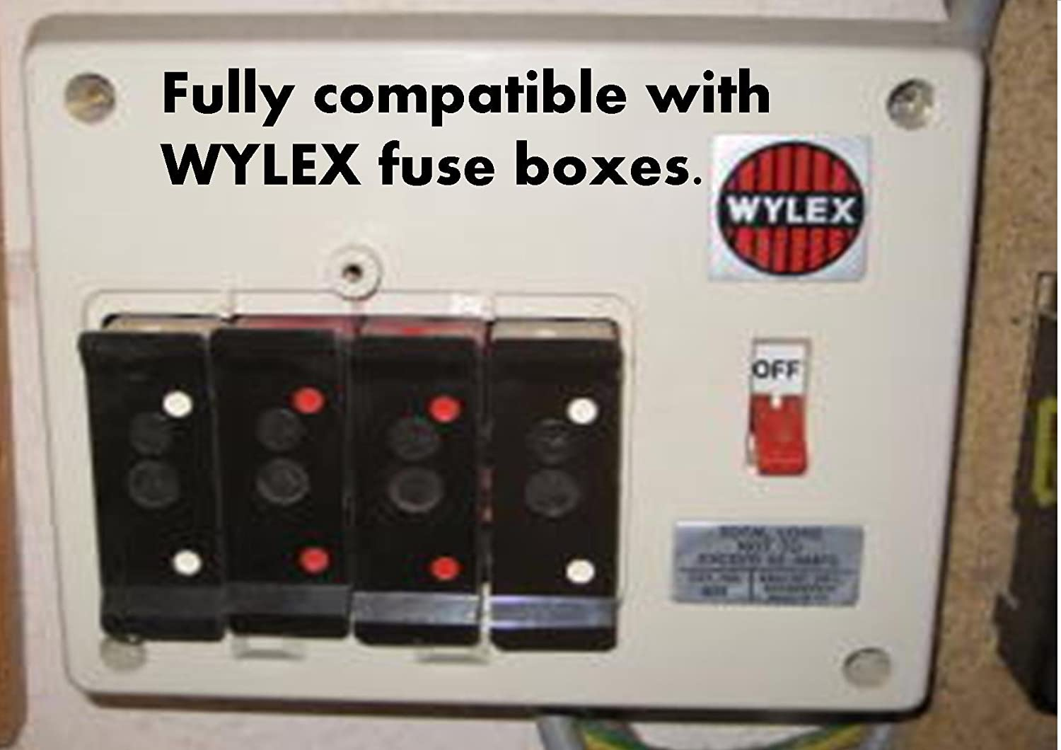 Wylex plug in MCB compatible fuse 6 amp - 16 amp - 32 amp trip switch (32  Amp): Amazon.co.uk: Business, Industry & Science