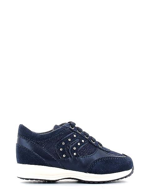 Sneakers blu navy con stringhe per bambini Geox Venta Comprar FBlJHNwB9U