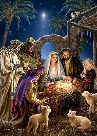 Attrayant Nativity Scene Christmas Card U0026 Advent Calendar (Countdown To Christmas)
