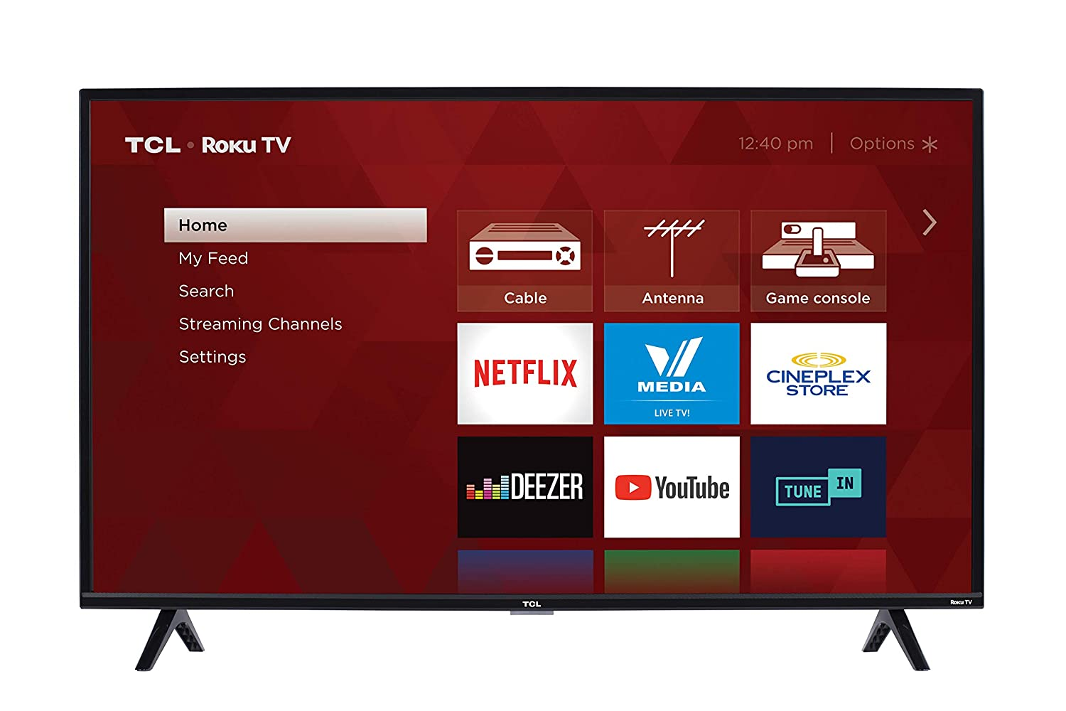 TCL 40S325-CA 1080p Smart LED Television (2019), 40' 40 TCL - Direct Import
