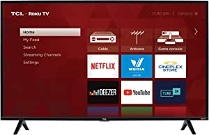 """TCL 40S325-CA 1080p Smart LED Television (2019), 40"""""""