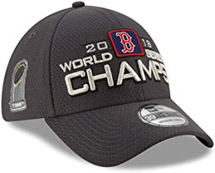 22e3afc3a69 New Era Boston Red Sox 39THIRTY 2018 World Series Champion Men s Locker  Room Hat