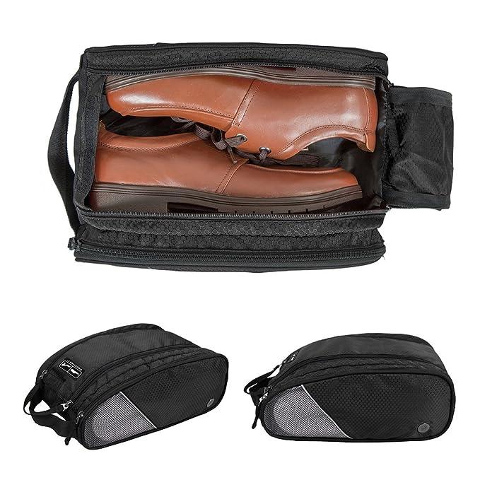e93f1cf1faff3 Amazon.com   BAGSMART Portable Travel Shoe Bags Gym Sport Sack ...