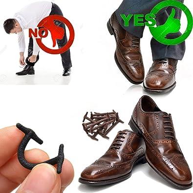 Shoe gear flat dress laces