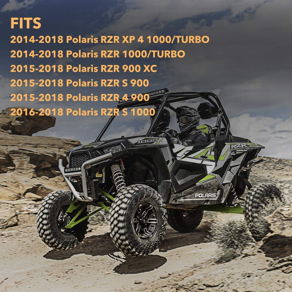 Amazon.com: BUNKER INDUST Front Mud Guards for 2014-2018 Polaris RZR XP 1000 Mud Flaps Fenders for RZR XP Turbo 1000,Black,1 Set: Automotive