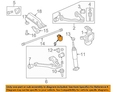 amazon com general motors, bumper, 15835667 automotiveControl Arm Diagrams #13