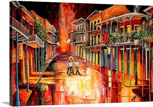 Royal Street Serenade Canvas Wall Art Print