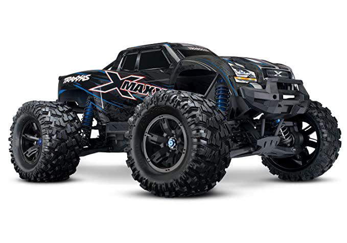 11841332cac27d Amazon.com  Traxxas 8S X-Maxx 4WD Brushless Electric Monster RTR ...