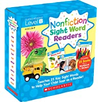 Nonfiction Sight Word Readers Parent Pack Level B: Teaches 25 key Sight Words to Help Your Child Soar as a Reader…