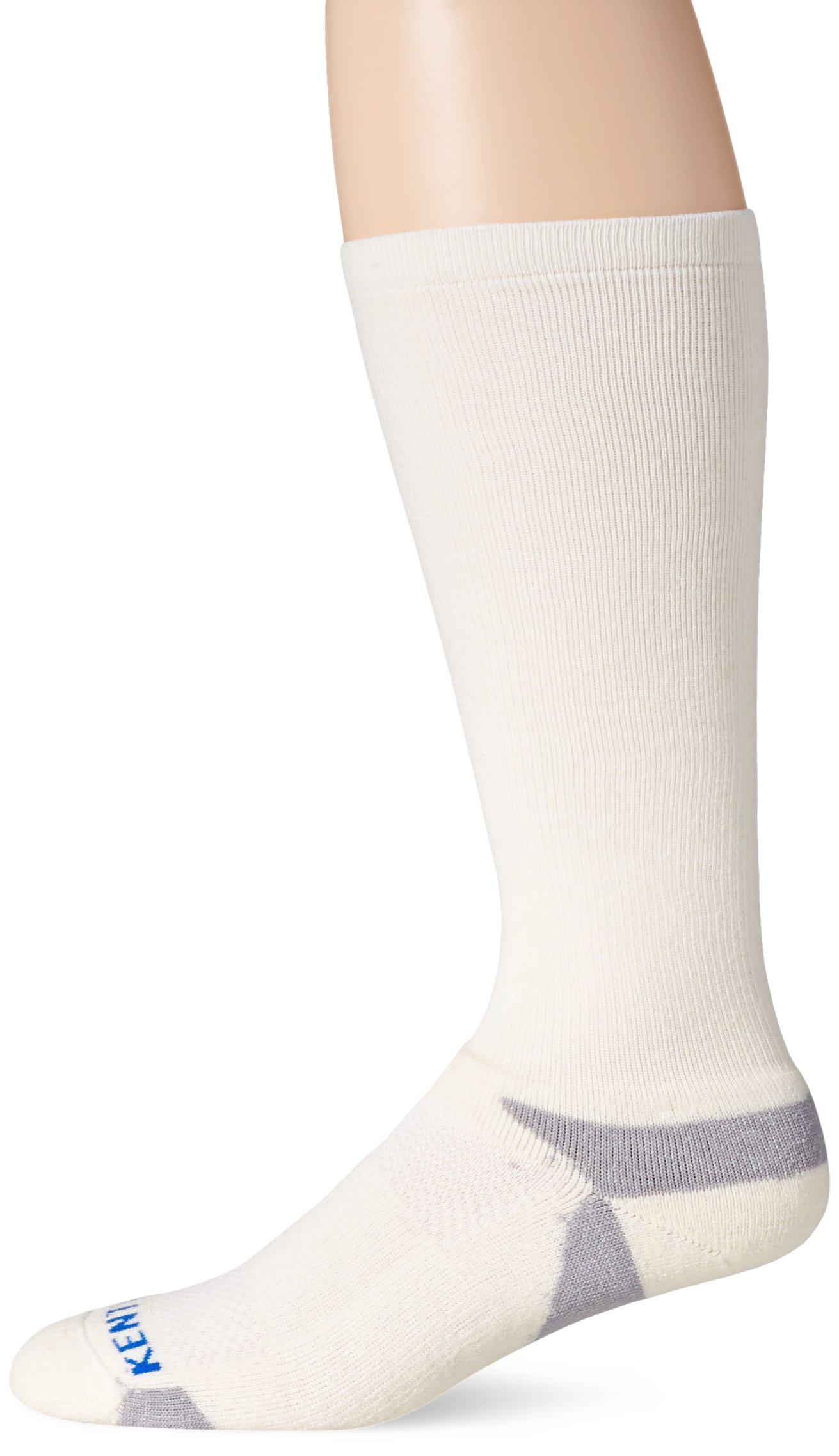 KENTWOOL Men's The Graduate Compression Sock (Natural, Medium) by KENTWOOL