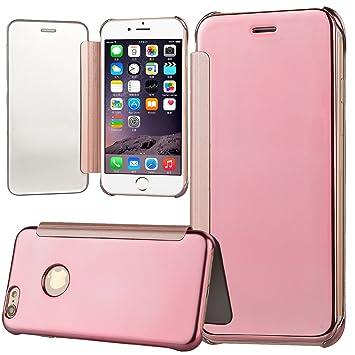 Funda iPhone 6 6s, WE LOVE CASE Piel y Tipo Cartera Carcasa ...