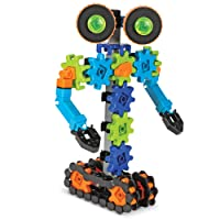 Learning Resources Gears! Gears! Gears! Robots in Motion, Robot Toy, Engineering Toy, STEM, Ages 5+