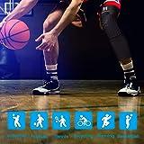HOMZHEN Knee Compression Sleeves Knee Braces
