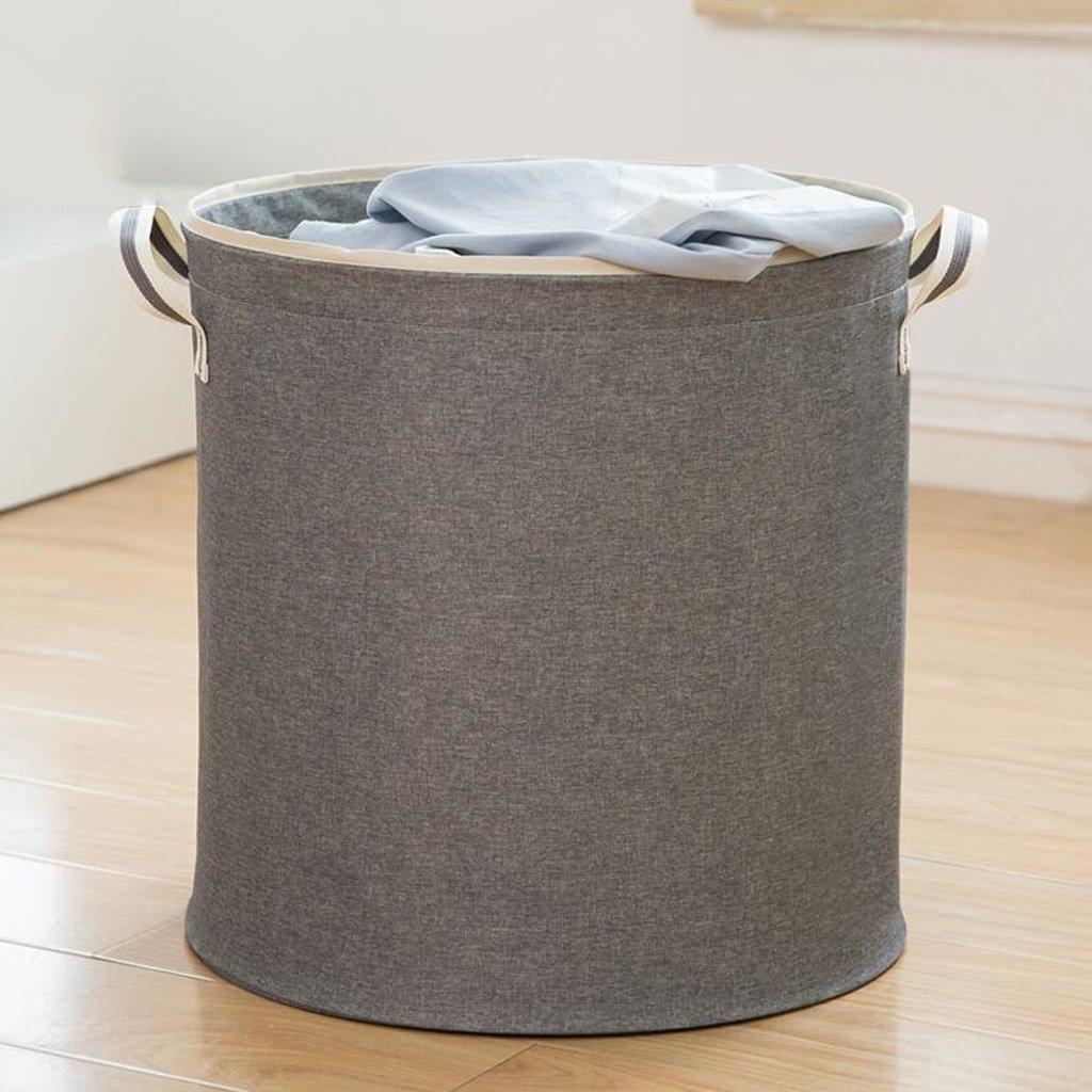 Aufbewahrungstaschen Xuan - Worth Another Hellgrau Startseite Schmutzige Kleidung Korb Wäschekorb Folding Storage Barrel (40  40  39 cm) (Farbe : 3 pcs)