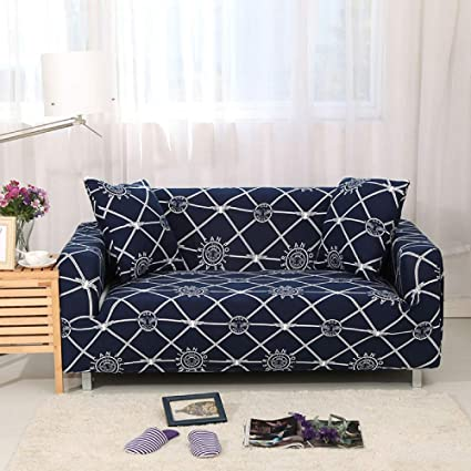SSLBOO Stretch Sofa Cover Slipcovers Elastic All-Inclusive ...