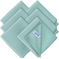 "MR.SIGA Ultra Fine Microfiber Cloths for Glass, Pack of 6, 35 x 40 cm 13.7"" x 15.7"""