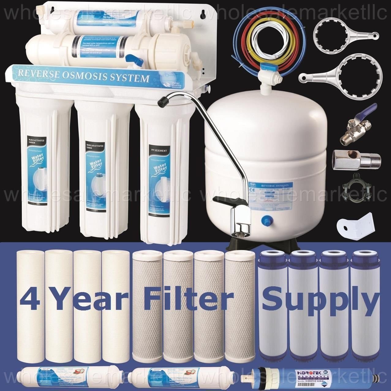 Home Reverse Osmosis Drinking Water System Amazoncom 5 Stage Reverse Osmosis Drinking Water System Ro Home