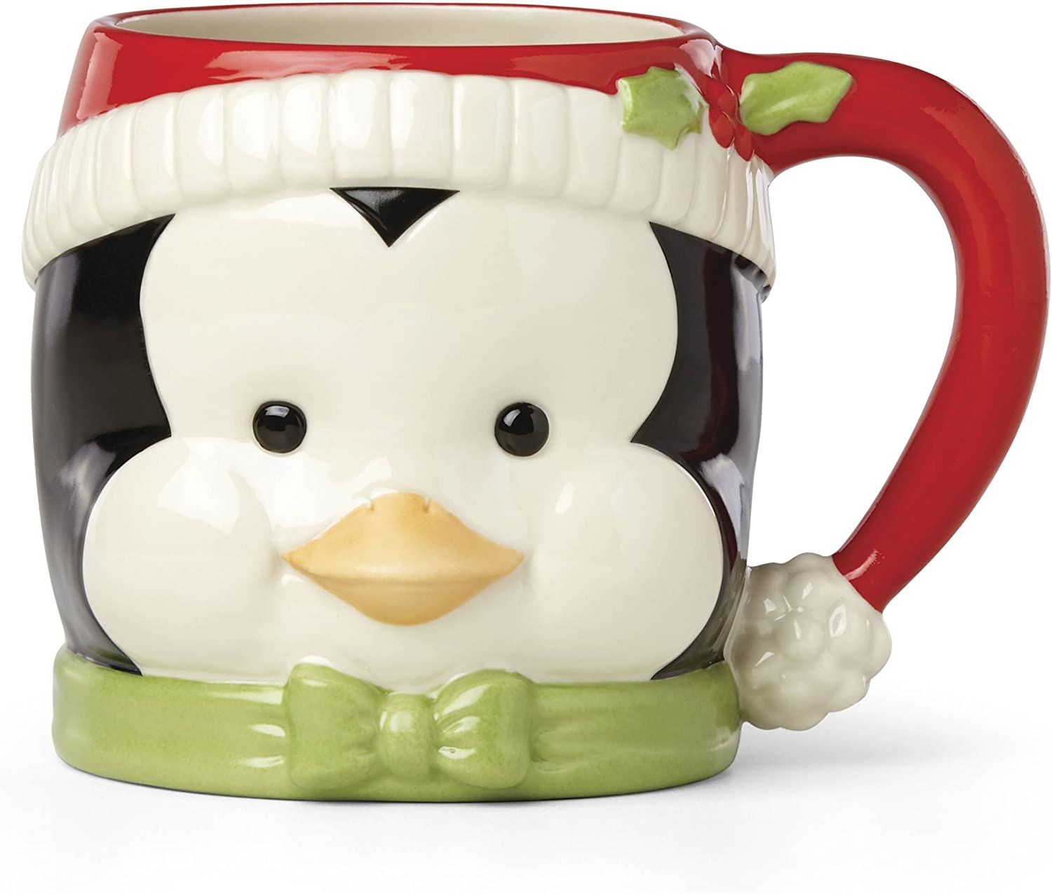3D Christmas Penguin Mugs