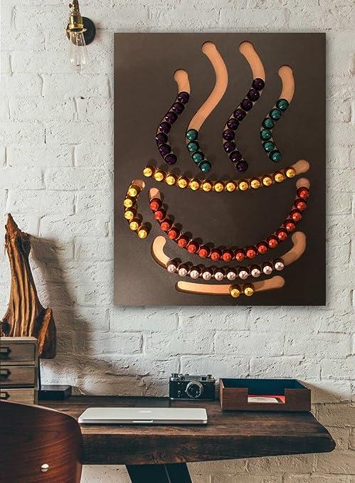Organizador de cápsulas de Nespresso con forma de taza, 100 cápsulas