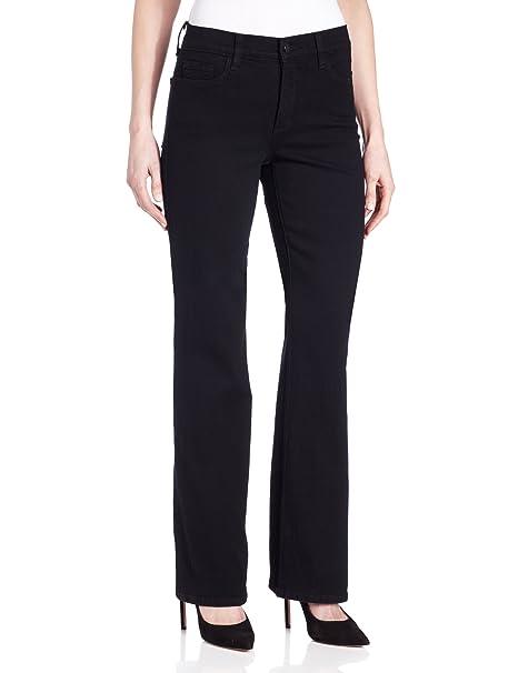 NYDJ Womens Petite Size Barbara Bootcut Jeans