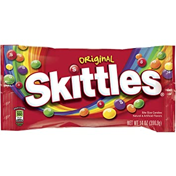 amazon com skittles original candy 14 ounce bag prime pantry