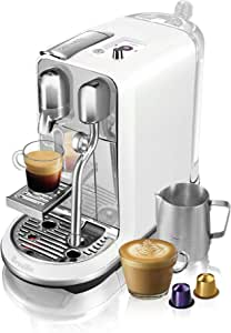 Breville Nespresso Creatista Plus Coffee Machine, Sea Salt, BNE800SST
