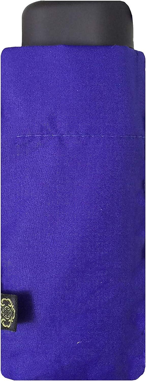 Design rectangulaire Mini Taille Solide Compact Voyage pour Femme Homme SMATI Parapluie de Poche R/ésitant au Vent