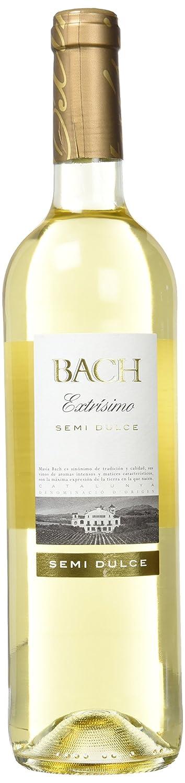 Bach Extrisimo - Vino Blanco Semidulce - 0,75 L: Amazon.es: Alimentación y bebidas