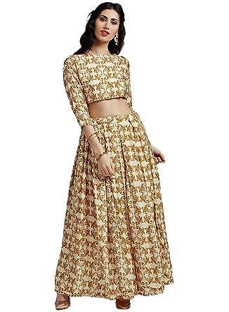 6945b8b298f43f Jaipur Kurti Women's Silk Straight Salwar Suit Set (JKSKT2981-S_Cream_Small)