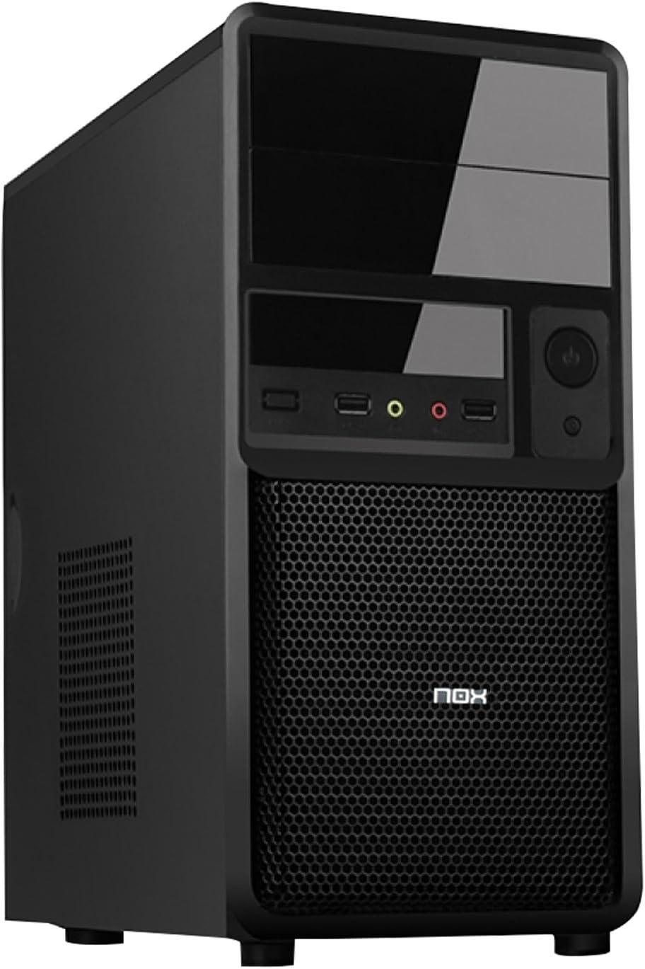 Nox Volt - NXVOLT - Caja PC, Micro ATX, Color negro: Amazon.es: Informática