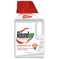Roundup Weed and Grass Killer Concentrate Plus 1/2-Gallon (64-Ounce) Deals