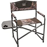 Timber Ridge Director's Folding Camping Chair Portable Lightweight Supports 300lbs with Side Table