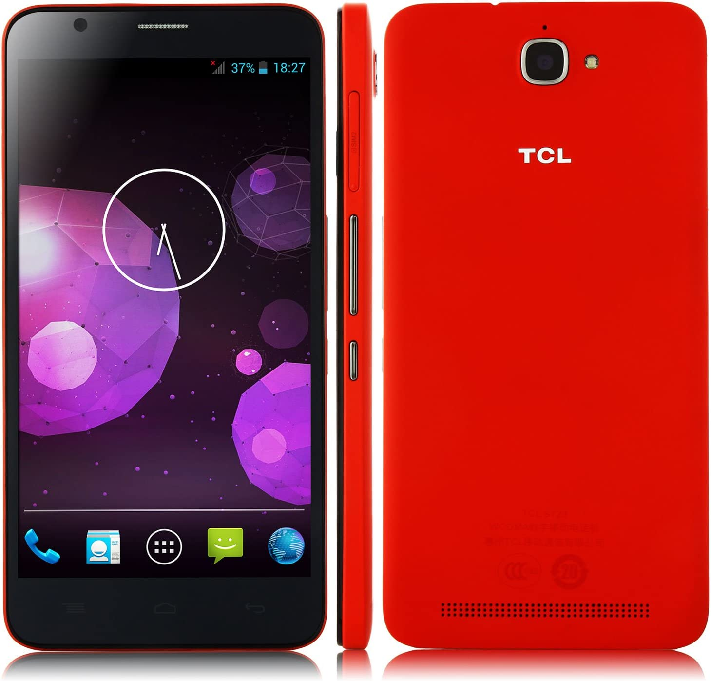 Promoción* 5.5 Pulgada TCL S720 Smartphone Android 4.2 MTK6592M 3G ...