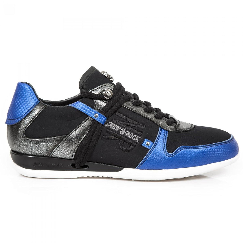 New Rock Boots M.HY001 C27 Urban Rock Herren Sneeker Schwarz