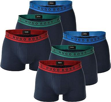 X-Large Hugo Boss 50325403 10146061 Lot de 6 boxers pour homme Blanc