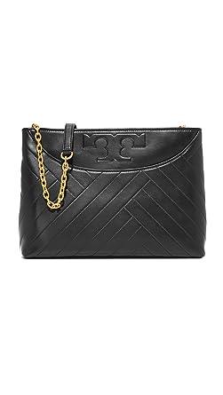 641274c07e25 Amazon.com  Tory Burch Alexa Ladies Medium Leather Tote Handbag 36911001   Watches