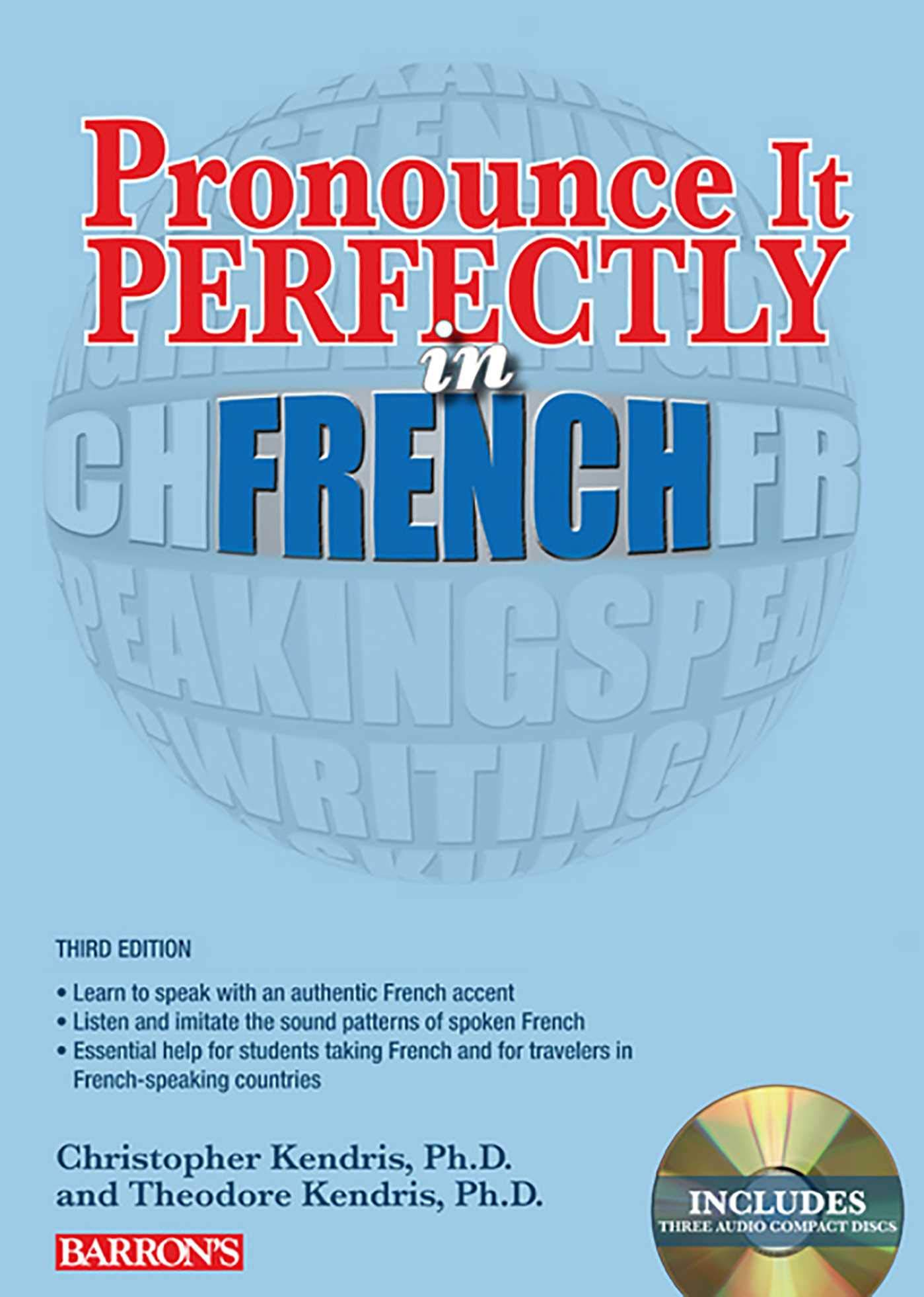 Pronounce it Perfectly in French: With Audio CDs (Barron's