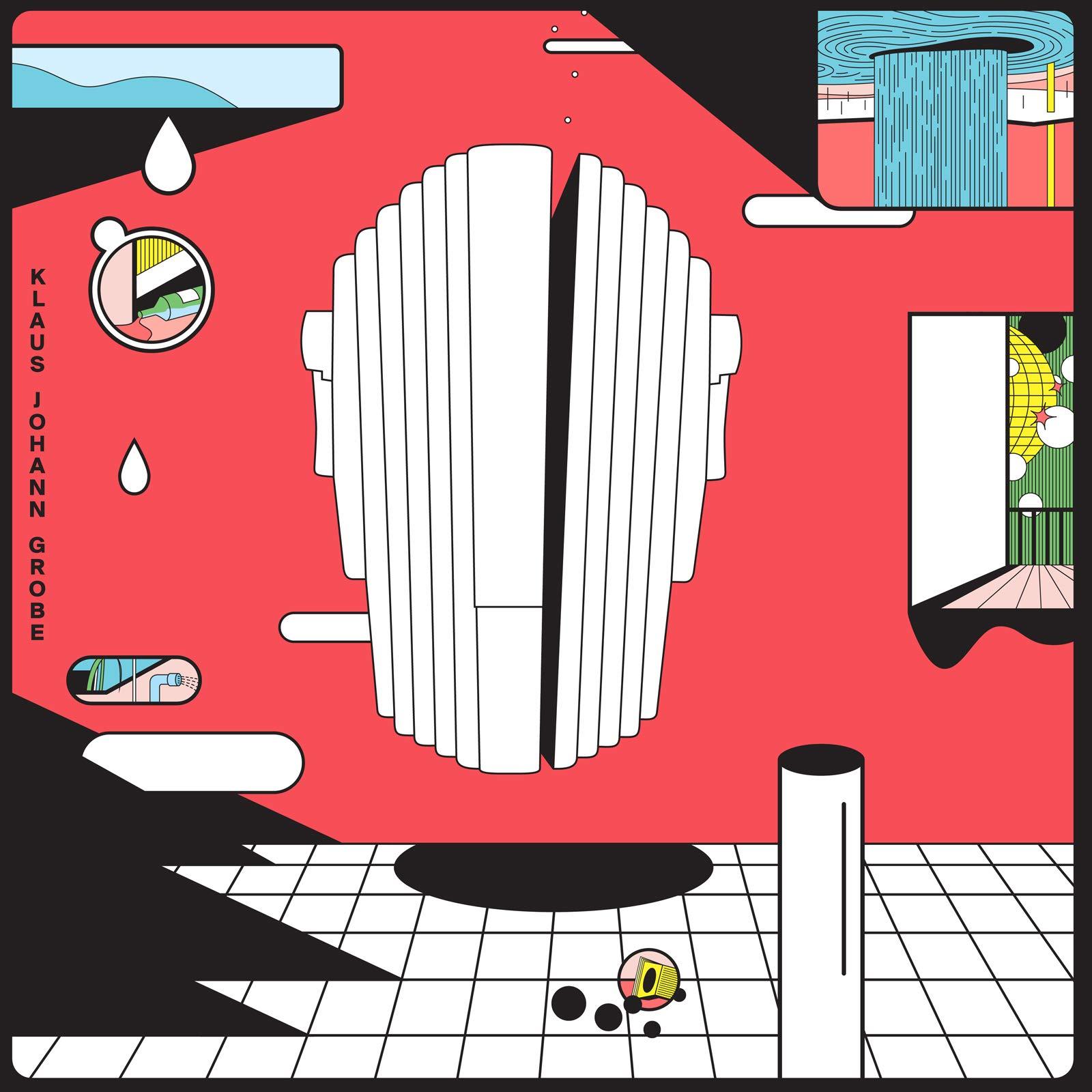 Vinilo : Klaus Johann Grobe - Du Bist So Symmetrisch (Limited Edition, Colored Vinyl, Blue, Canada - Import)