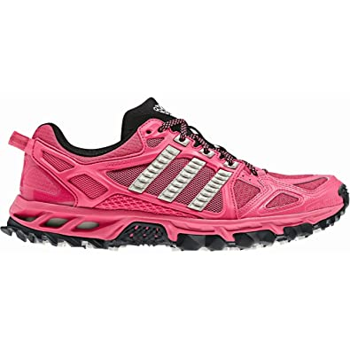 info for ae6ea 32289 adidas Women's Kanadia Trail 6 Shoe, Pink, UK4