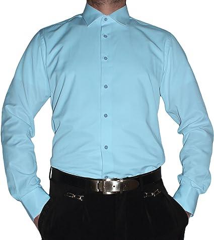 Tonelli Camisa Formal - Camisa - Básico - Cuello Kent - Manga Larga - para Hombre: Amazon.es: Ropa y accesorios