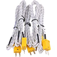 BQLZR 2m cable de termopar K Tipo Sonda
