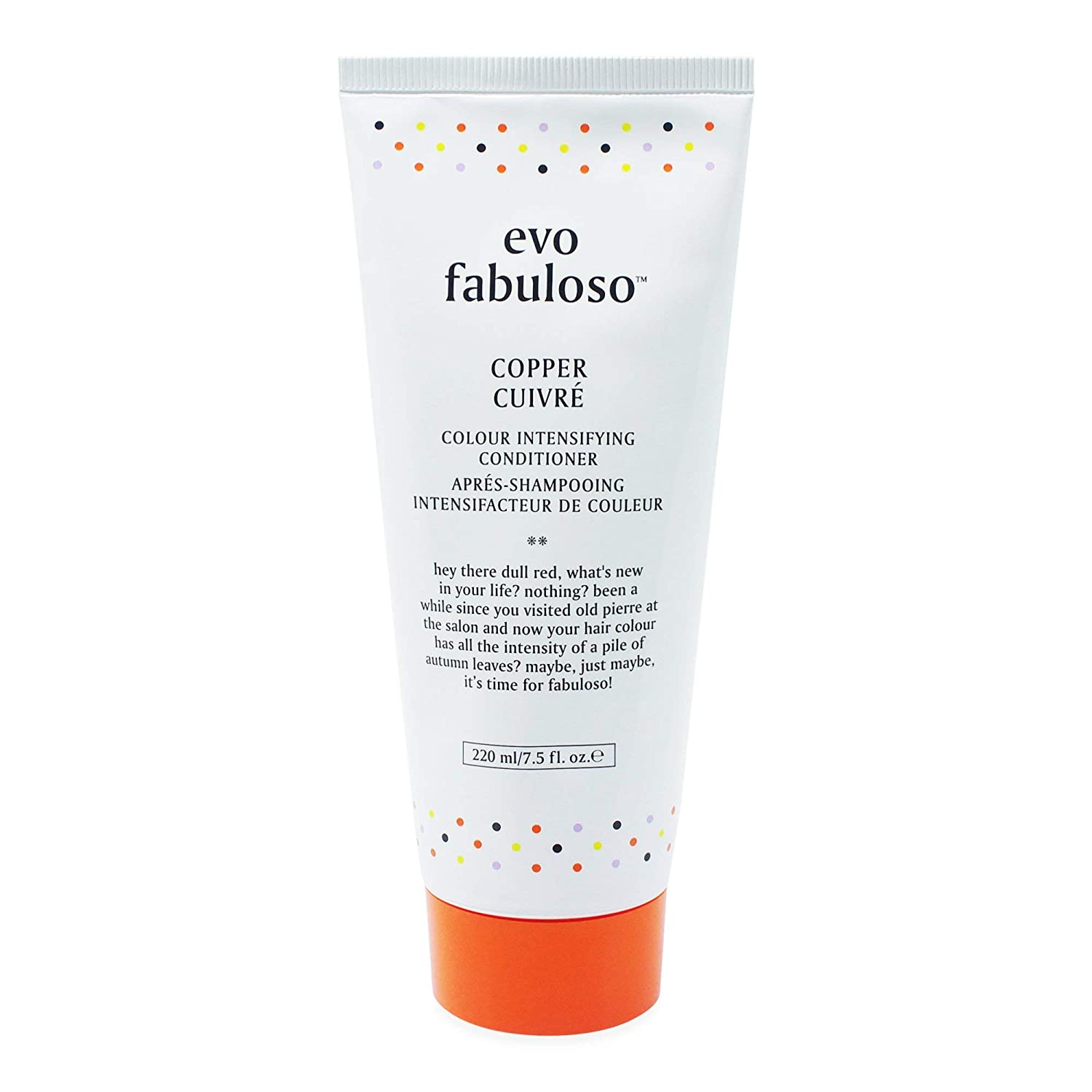 Evo Fabuloso Copper Cuivre Colour Intensifying Conditioner - 8.5 oz