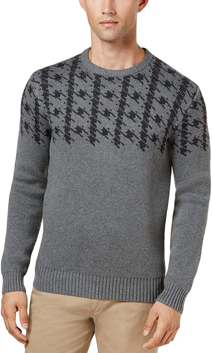 BOSS Mens Jacquard Sweatshirt