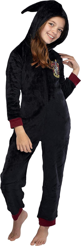 Harry Potter Unisex Gryffindor or Slytherin House Uniform Onesie Pajama Costume