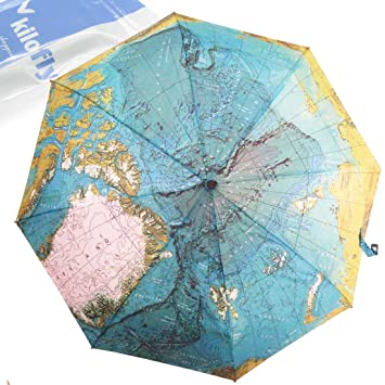 Kilofly world map automatic folding umbrella with carry sleeve kilofly world map automatic folding umbrella with carry sleeve gumiabroncs Choice Image