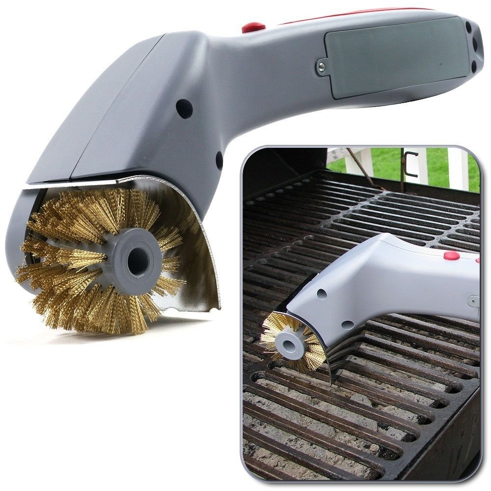 Cordless Battery Operated Grill Cleaning Spinning Brush