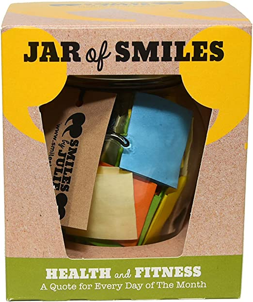 amazon com health fitness quotations in a jar a month of