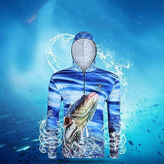 perfk Camisa con Capucha Sudadera Protección Solar Paseos en Bote Kayak Surf Vela Parque Acuático Deporte: Amazon.es: Ropa y accesorios